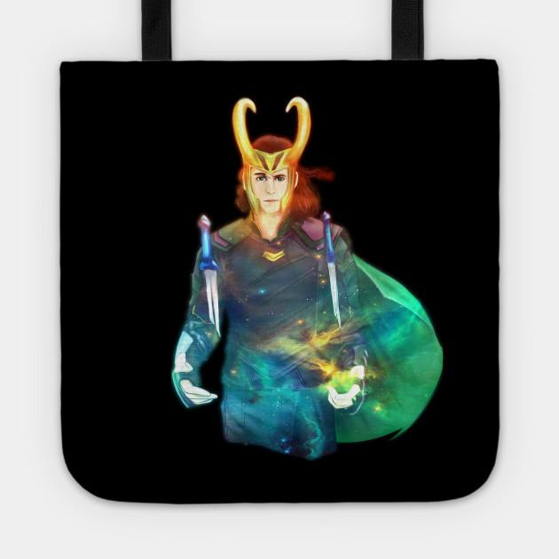 Loki nebula sky fanart