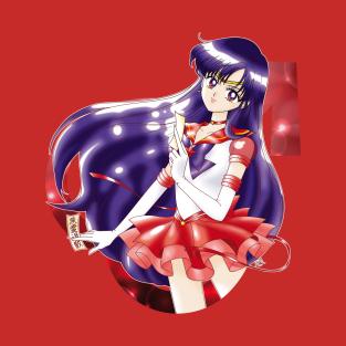 Eternal Sailor Mars t-shirts