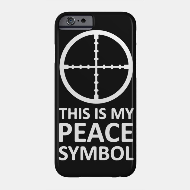 This Is My Peace Symbol Peace Phone Case Teepublic