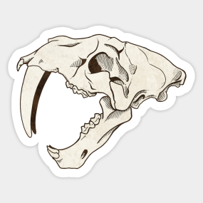 5db1eb98a Sabertooth Stickers | TeePublic