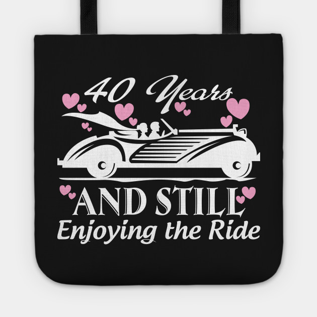 Gifts For Wedding Anniversaries For Each Year: Anniversary Gift 40 Years Wedding Marriage