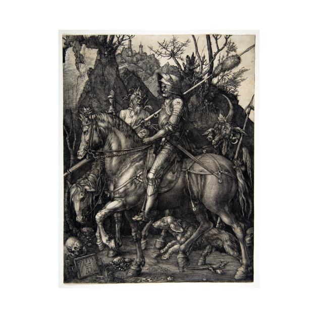 Albrecht Dürer Knight, Death and the Devil