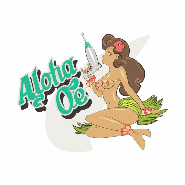 Space Dandy Aloha Oe