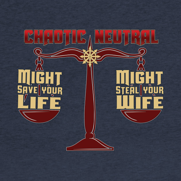 D&D Tee - Chaotic Neutral
