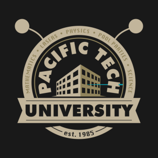 Pacific Tech University t-shirts