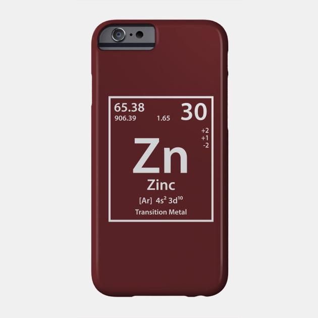 Zinc Element Zinc Phone Case Teepublic