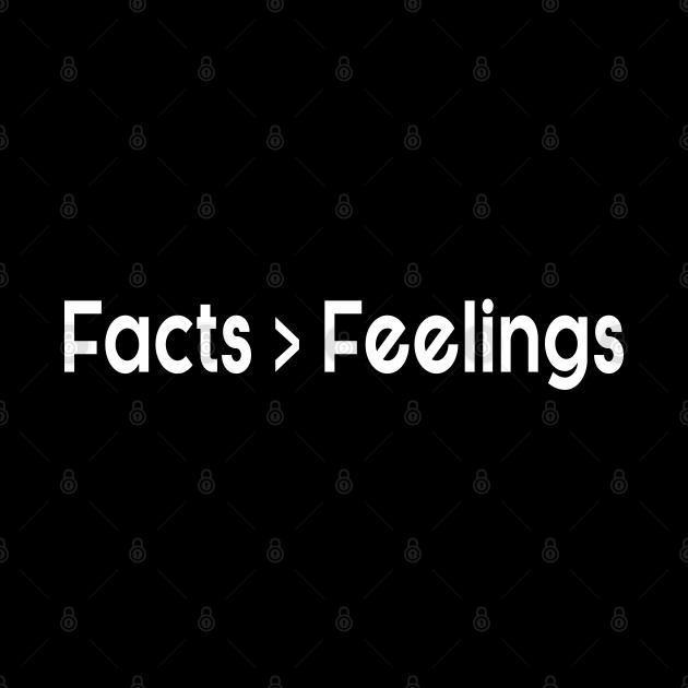 Facts Over Feelings, Facts Matter, Ben Shapiro, Republican,