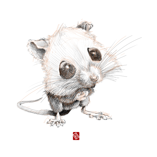 Sketchy Mouse