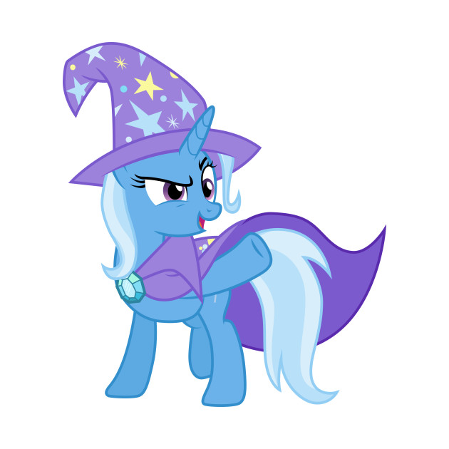 The Great and Powerful Trixie - My Little Pony - T-Shirt ...