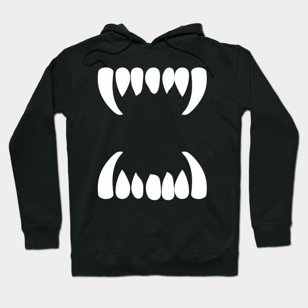 Harajuku Monster Teeth - Harajuku - Hoodie  8c28aea2dadb