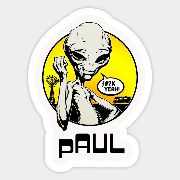 Paul sticker