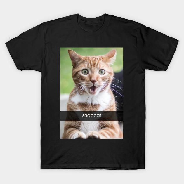 snapcat t shirt snapchat t shirt teepublic