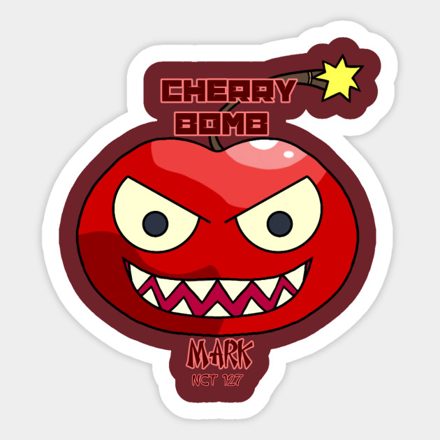 a706a8c31be2 Mark Cherry Bomb - Nct127 - Sticker