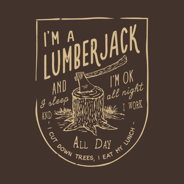 The Lumberjack Song T-Shirt