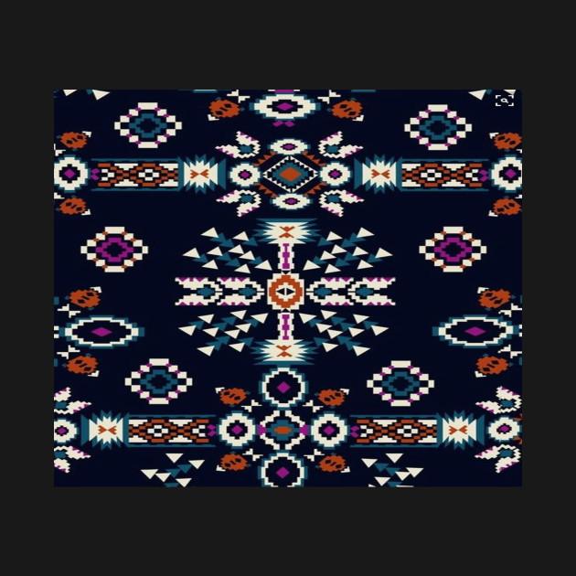 native american ethnic tribal aztec print pattern design aztec
