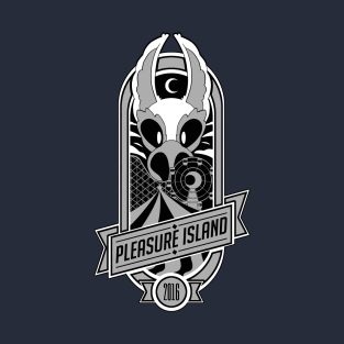 Pleasure Island 2016 (silver) t-shirts