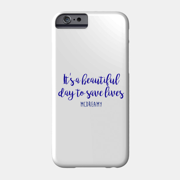 reputable site f4609 c031d Grey's Anatomy - It's a beautiful day to save lives