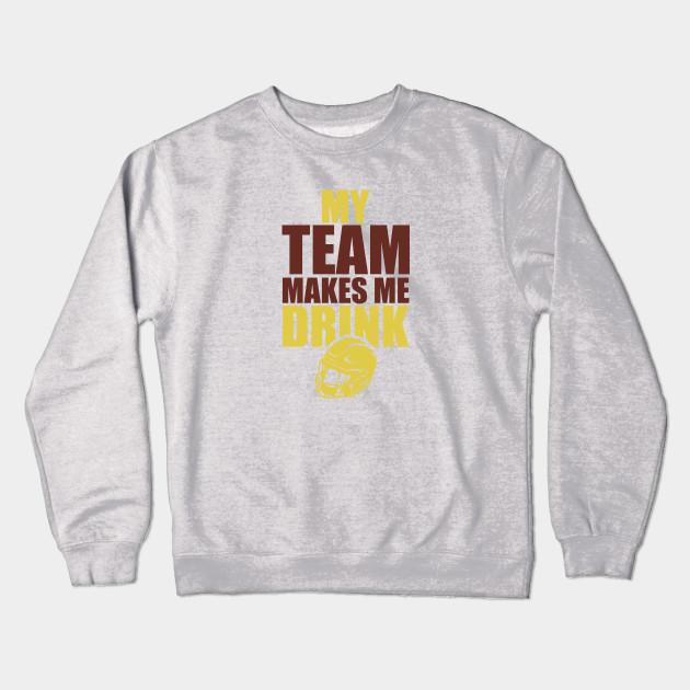 NFL Washington Redskins Rams Drink - Nfl - Crewneck Sweatshirt ... b9b6d6e85