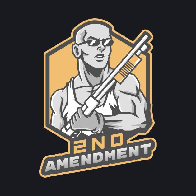 The Man With A Shotgun - 2nd Amendment