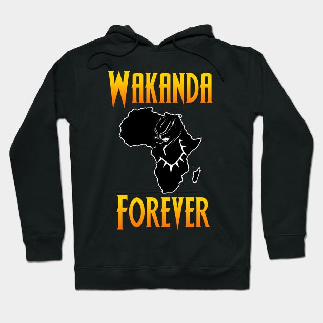Black Panther Wakanda Forever Wakanda Forever Hoodie Teepublic