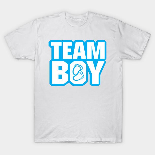596d3320a0 Team Boy Baby Shower Gender Reveal Party Blue - Gender Reveal - T ...