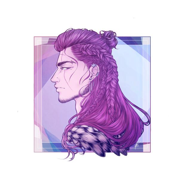 Gladio with braids, anyone?