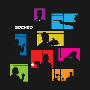 Archer Intro t-shirts