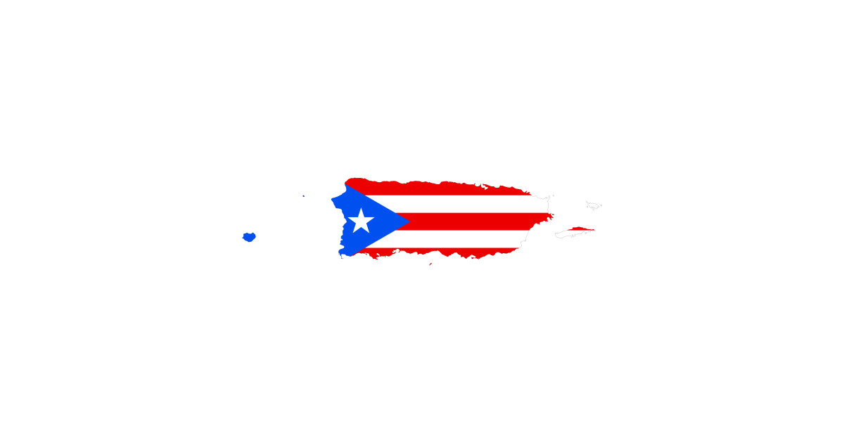 Puerto Rico Map Flag and Text Back Print Long Sleeve Hoodie for Men