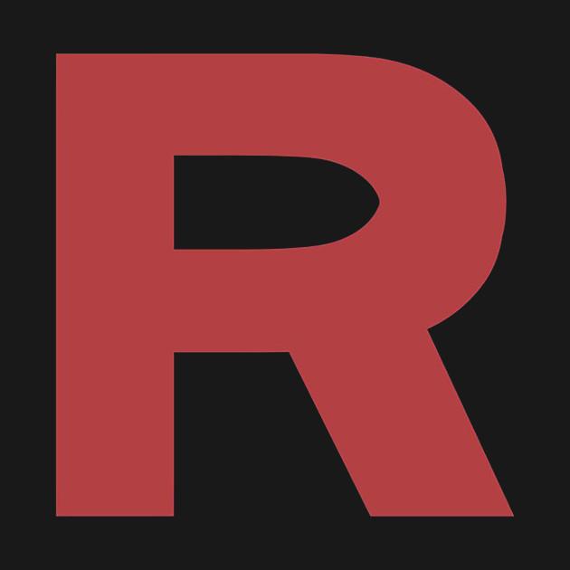 Team Rocket R Logo Pokemon Kids Long Sleeve T Shirt Teepublic