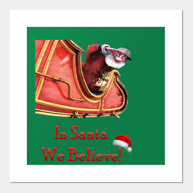 Arthur Christmas Poster.Arthur Christmas In Santa We Believe