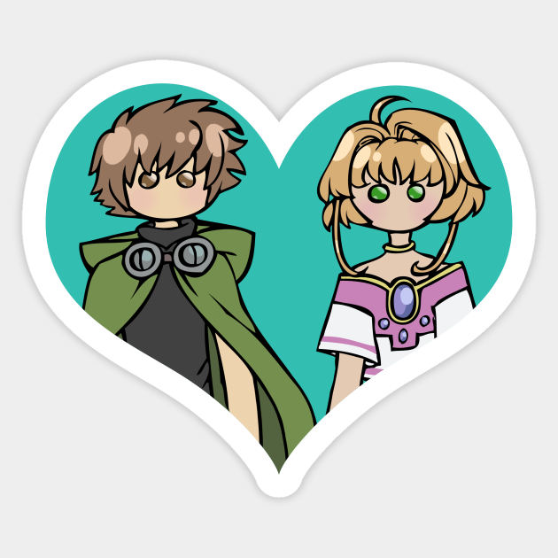 Syaoran and Sakura - shipping dolls