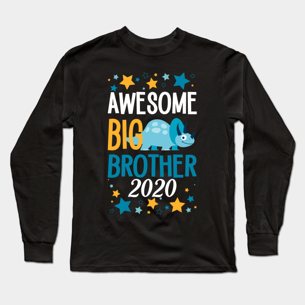 Awesome Big Sister Sibling Siblings Family T Shirt Tee Gift Sibling Gift Ideas Long Sleeve T Shirt Teepublic