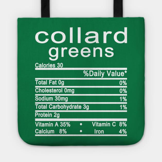 Collard Greens Nutrition - Tragetasche