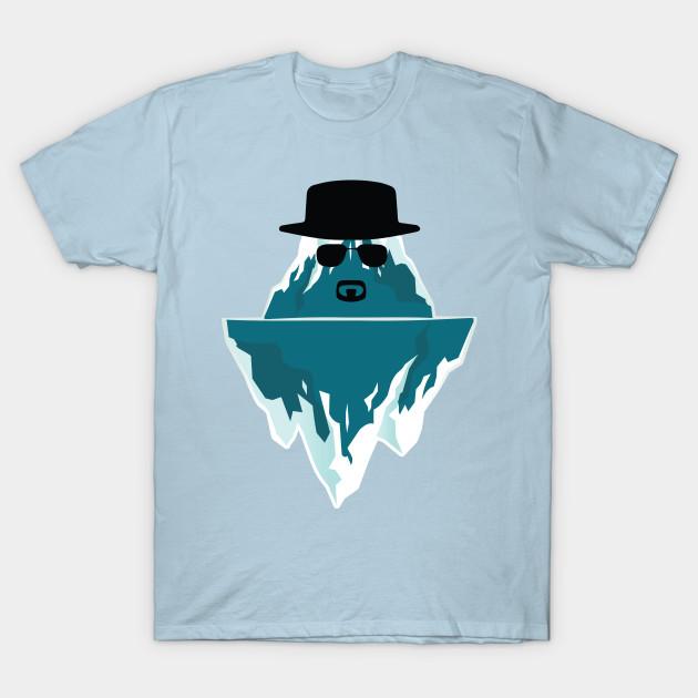 icenberg breaking bad heisenberg t shirt teepublic