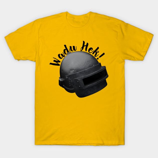 4d94b97a6392 Wadu Hek - Pubg - T-Shirt | TeePublic