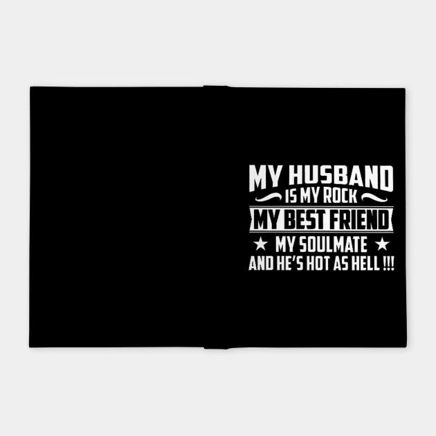 My Husband Is My Rock My Husband Is My Rock Notebook Teepublic