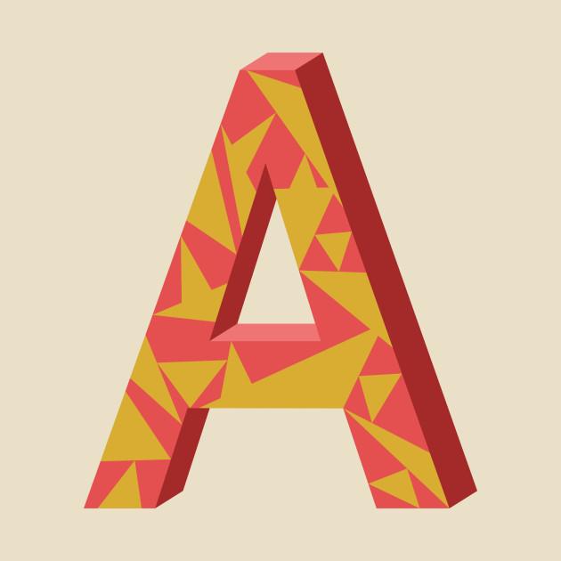 Letter A 3D Design Letter A 3D Design