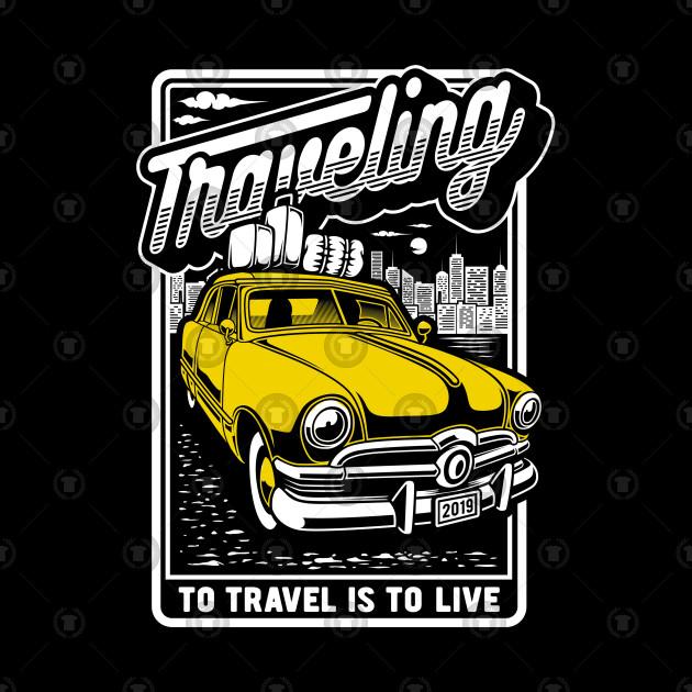 """Hudson Hornet """"traveling"""""""