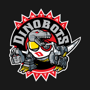 Central City Dinobots t-shirts