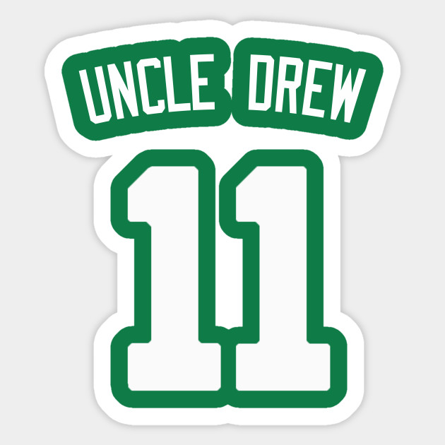new product f2e95 385a5 Kyrie Irving 'Uncle Drew' Nickname Jersey - Boston Celtics