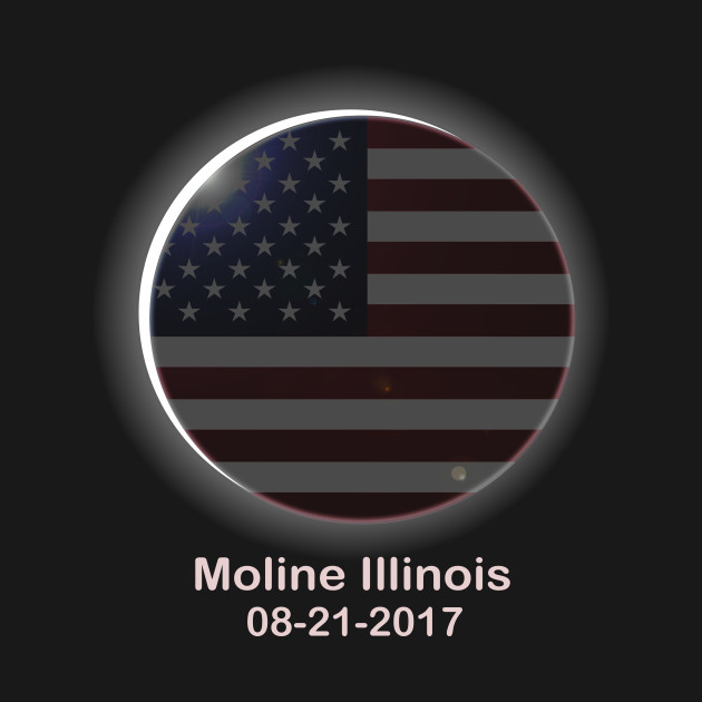 Total Solar Eclipse Moline, IL August 21, 2017 Totality