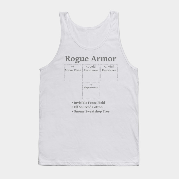 Rogue Armor: Role Playing DND 5e Pathfinder RPG Tabletop RNG by rayrayray90