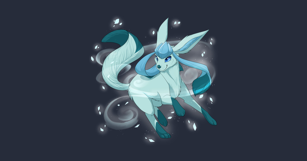 906072893 Glaceon used Icy Wind! T-Shirt