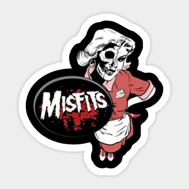 Misfits Sticker Pack Ebay