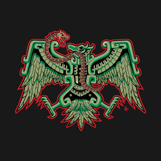 aguila azteca aztec t shirt teepublic