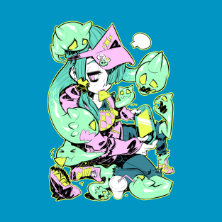 Ghost girl t-shirts