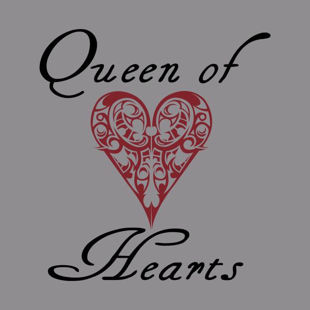 Hearts Queen Of Hearts Quotes Hoodie Teepublic