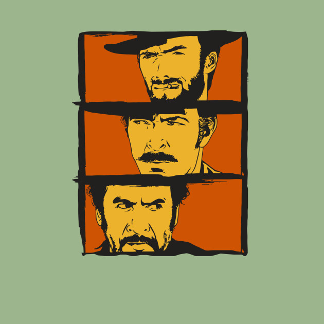 The Good,the Bad and the Ugly art