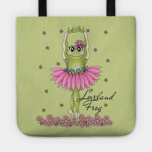 Loveland Frog - cute Cryptid ballerina