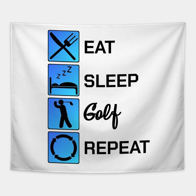 Golfing Eat Sleep Golf Repeat Game Gift